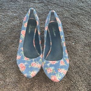 Floral Unionbay Heels